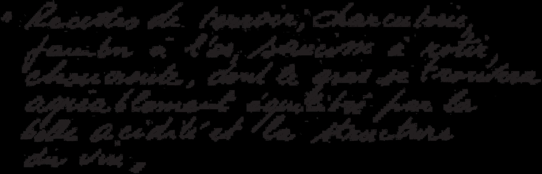 texte manuscrit brez