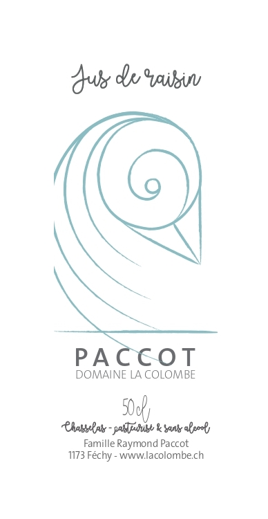 paccot la colombe jus de raisin