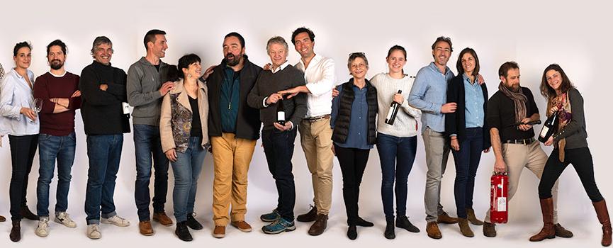 2019 le vin de mes amis photo de groupe vio par frederic sautai