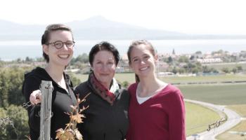 Divo Terroir oct. 2019 Eva Zwahlen, Laura et Marion Paccot