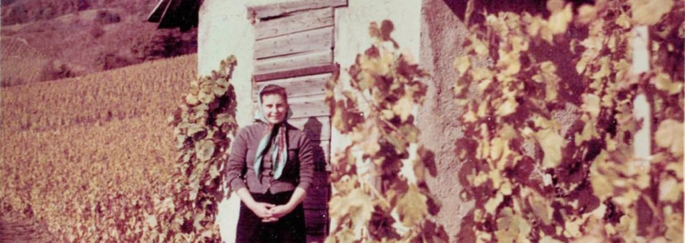 Claudine Piot au Petit Clos grand-mere maternelle