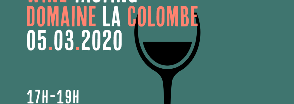 wine tasting colombe ourplace