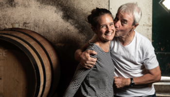 Hans-Peter Siffert Domaine La Colombe Raymond und Laura Paccot