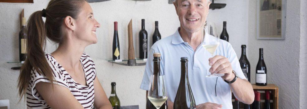 Laura et Raymond Paccot - 24heures Odile Meylan