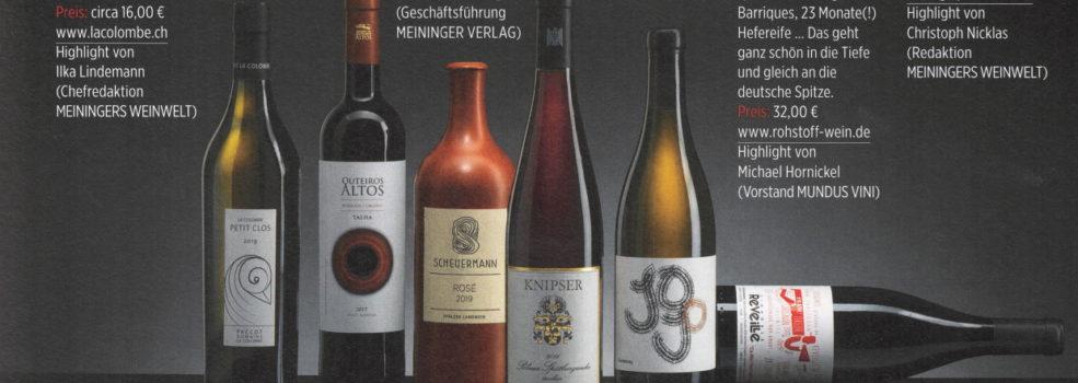 2020 Meininger Weinwelt - 6 sells
