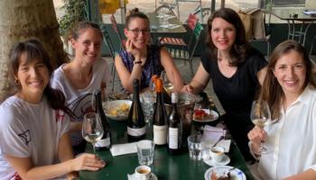 Madelyne Meyer, Laura & Marion Paccot, Anna Zimmermann, Victoria Lergenmueller im Lotti